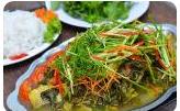 Cơm cá om dưa